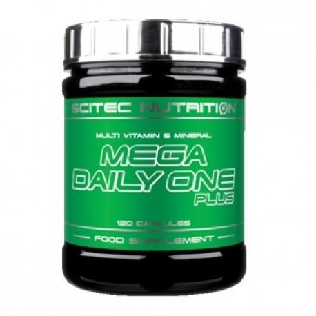 MEGA DAILY ONE PLUS 120 CAPS (SCITEC)