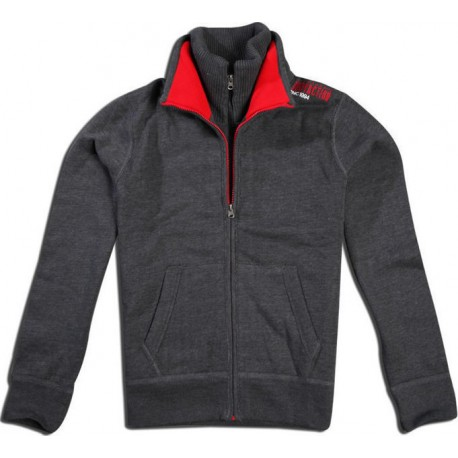 Body Action Double Mock Neck Collar Jacket 073505
