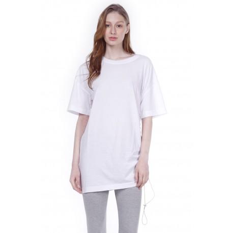 Body Action Γυναικείο t - shirt μακρύ  051003 White
