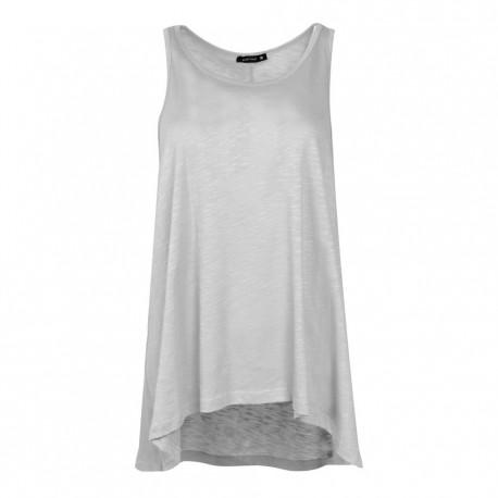 BodyTalk  Γυναικεία αμάνικη μπλούζα 901423 White