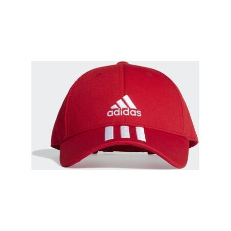 Adidas Baseball 3-Stripes Twill FK0897 Red